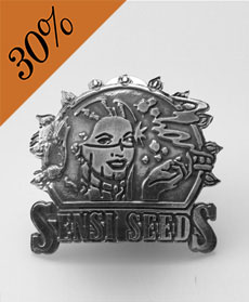 Sensi Seeds Logo Pin