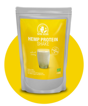 Hanf-Protein-Shake – Hanf-Lebensmittel von Sensi Seeds