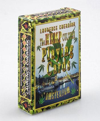Cannabiskultur-Spielkarten