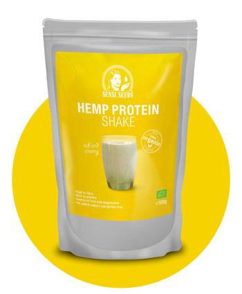 Buy Organic Hemp Protein Shake 500G – Sensi Seeds Hemp Foods