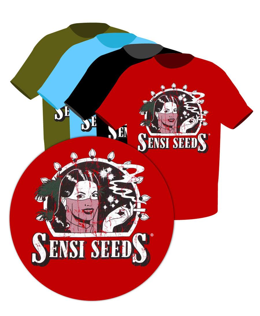 Buy Sensi Seeds Vintage Logo T-shirt online