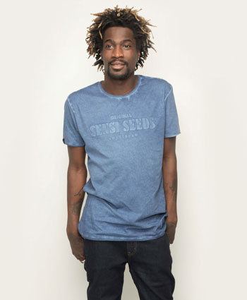 Kick back with the Sensi Seeds Oil Dyed Bold T-Shirt