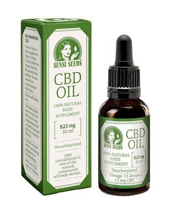 Compra aceite de CBD de Sensi Seeds 825mg (30ml)