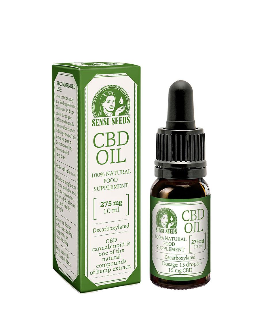 Compra aceite de CBD de Sensi Seeds 275mg (10ml)