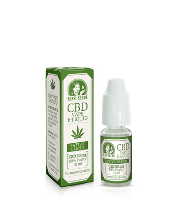 Acquistate qui Sensi Seeds CBD E-Liquids 50mg