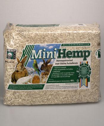 Koop Mini Hemp® HempFlax dierenstrooisel online