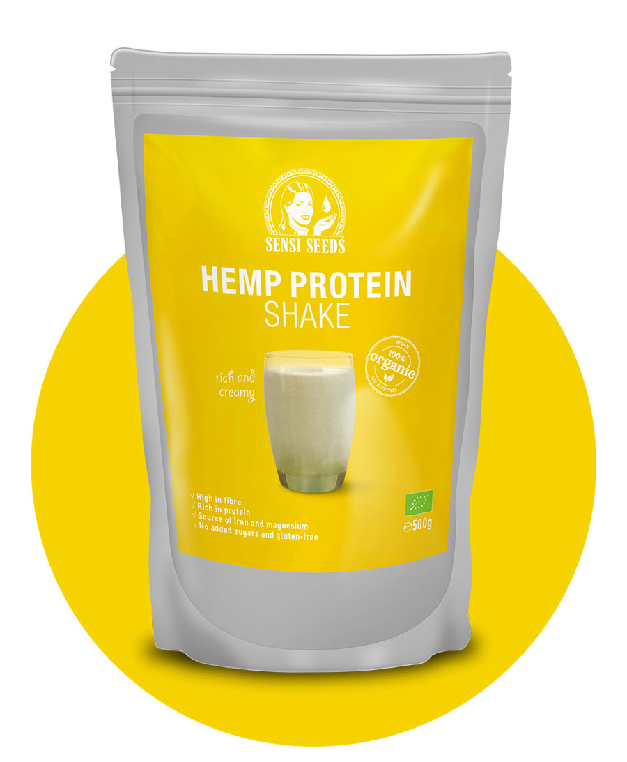 Organische hennepeiwitshake 500 g – Sensi Seeds Hemp Foods
