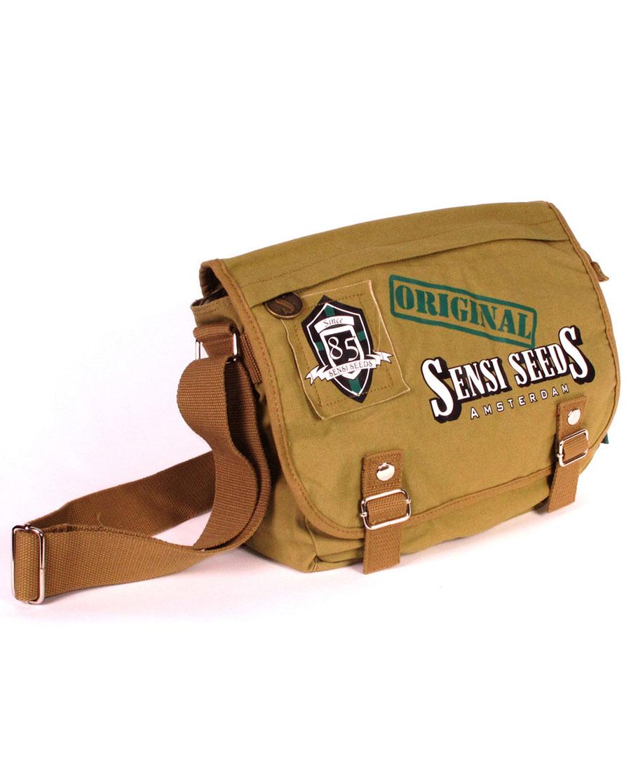 Schoudertas Wapen : Koop sensi seeds satchel bag