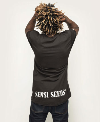 Relax in je Sensi Seeds Urban Long Tee