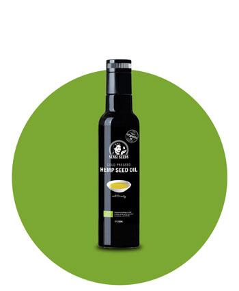 Kup olej konopny tłoczony na zimno — Sensi Seeds Hemp Foods